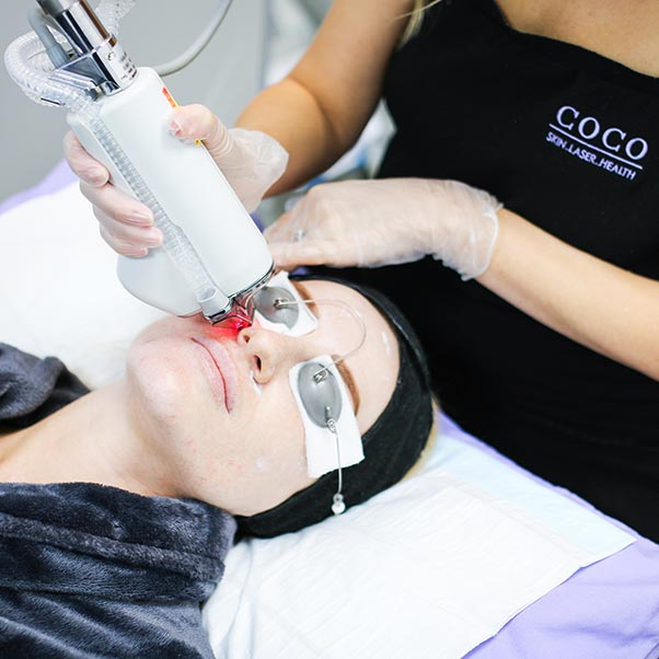 Halo Laser Treatment at Coco